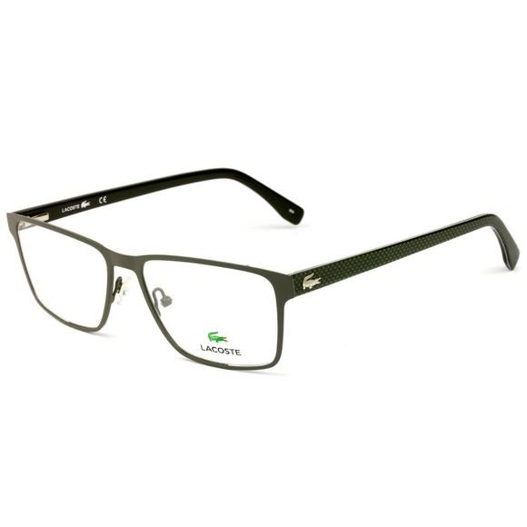 fec2a01ca39c Lacoste Eyeglasses L2205 315 Green Frame   NO CASE